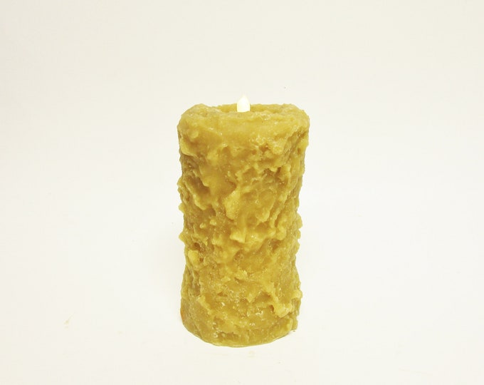 Primitive Timer Candle | Decorative Candles | Handmade Candles | Primitive Candles | Timer Candles