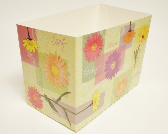 Daisy Theme Gift Boxes, Special Occasion Gift Boxes, Flower Print Gift Boxes