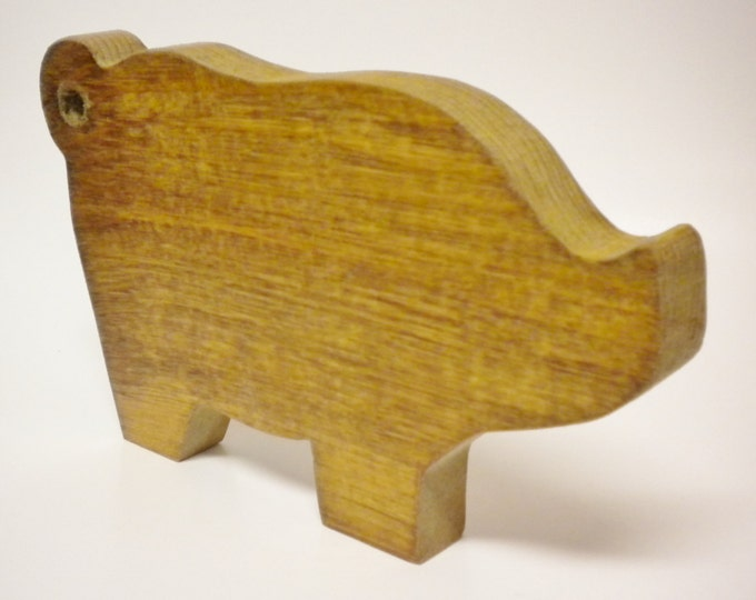 Pig Cutting Board | Primitive Pigs | Decorative Wood Pig Cutting Boards | Kitchen Decor