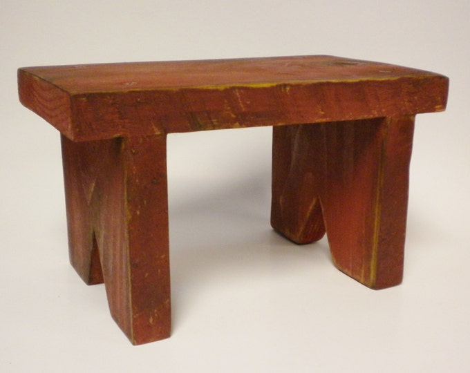Small Bench Riser - Made To Order | Table Risers | Primitive Benches | Country Farmhouse Decor