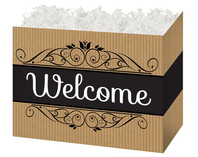 Welcome Theme Gift Box | Gift Packaging | Gift Basket Boxes