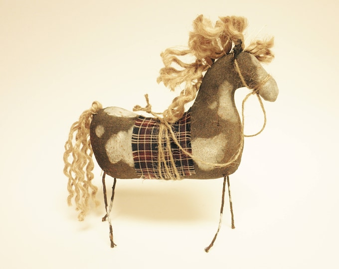 Primitive Paint Horse | Handmade Horses | Primitive Horses | Horse Decor | Folk Art Horses