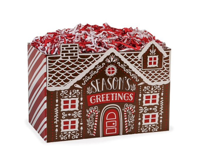 Gingerbread House Gift Box, Christmas Gifts, Theme Boxes, Gift Basket Boxes, Gift Boxes, Decorative Boxes