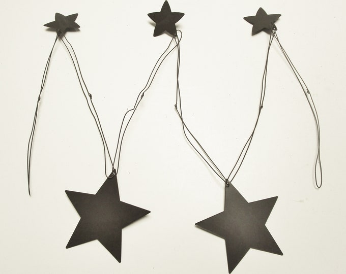 Wire Garland with Stars 4 feet | Primitive Americana Rustic Craft Supply