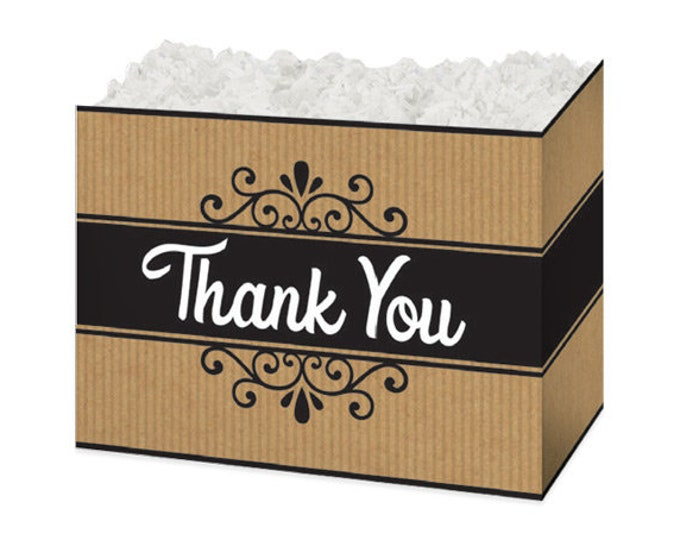 Thank You Gift Box | Theme Gift Basket Boxes | Special Occasion Gift Packaging | Gift Boxes