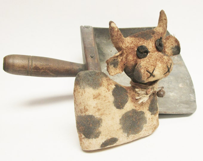 Primitive Cow, Spotted Cows, Holstein Cows, Handmade Cows, Country Farmhouse Kitchen Decor