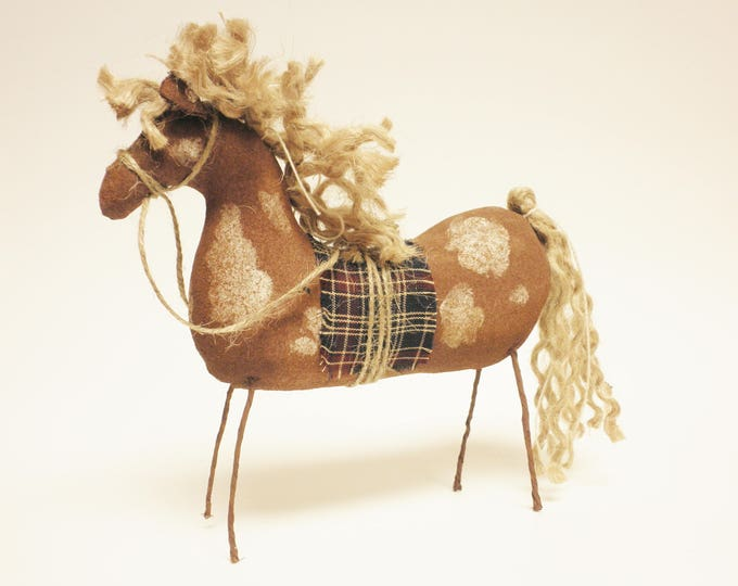 Primitive Paint Horse | Handmade Horses | Horse Decor | Folk Art Horses