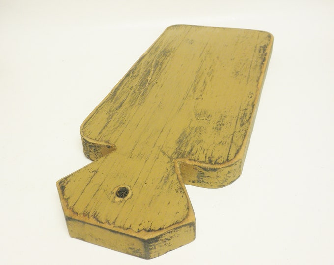 Decorative Cutting Board | Primitive Table Risers | Wood Punch Needle Boards