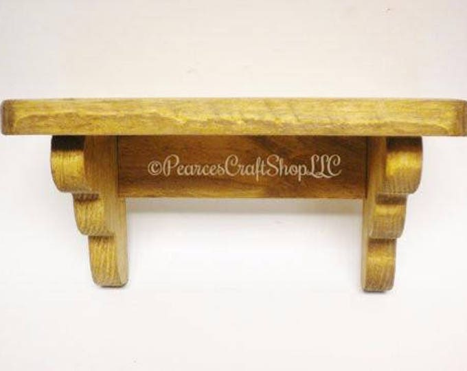 Shelf - Made To Order   Wood Shelving   Primitive Shelves   Country Farmhouse Accent Shelf