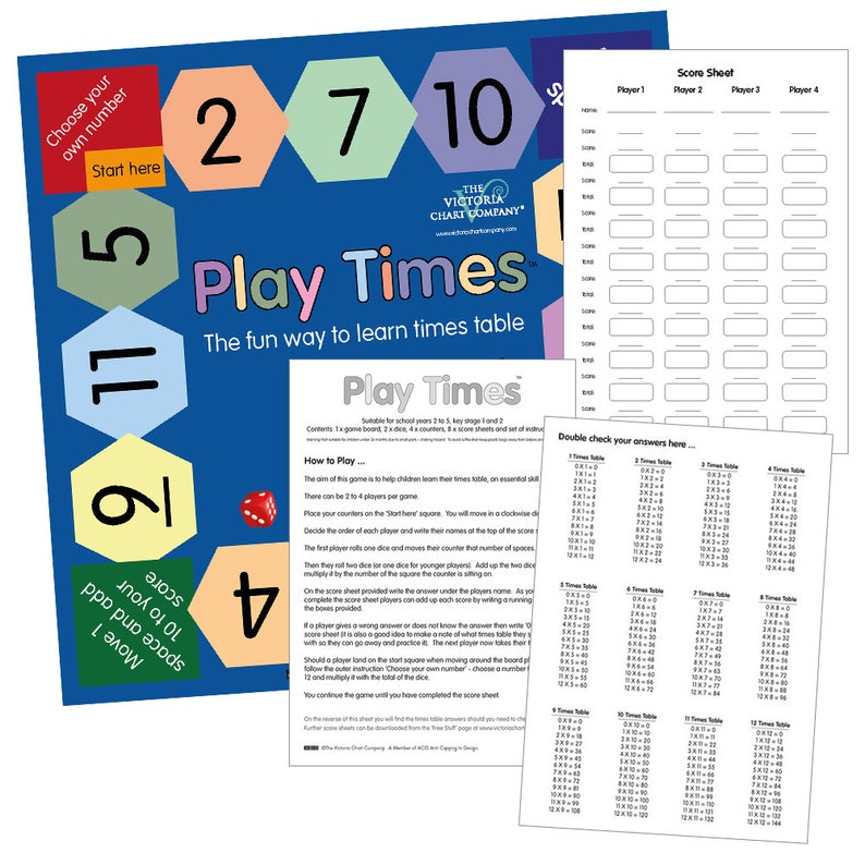 Play Times Table Game for kids. Learn Tables the fun way. image 0