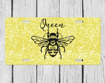 SAVE THE BEES  License Plate Frame