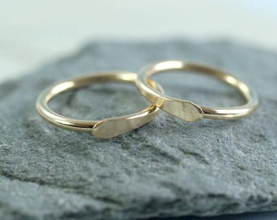 Sleeper Hoop Earrings 14k Gold Fill 11 mm