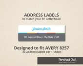 items similar to address labels skincare stationery direct