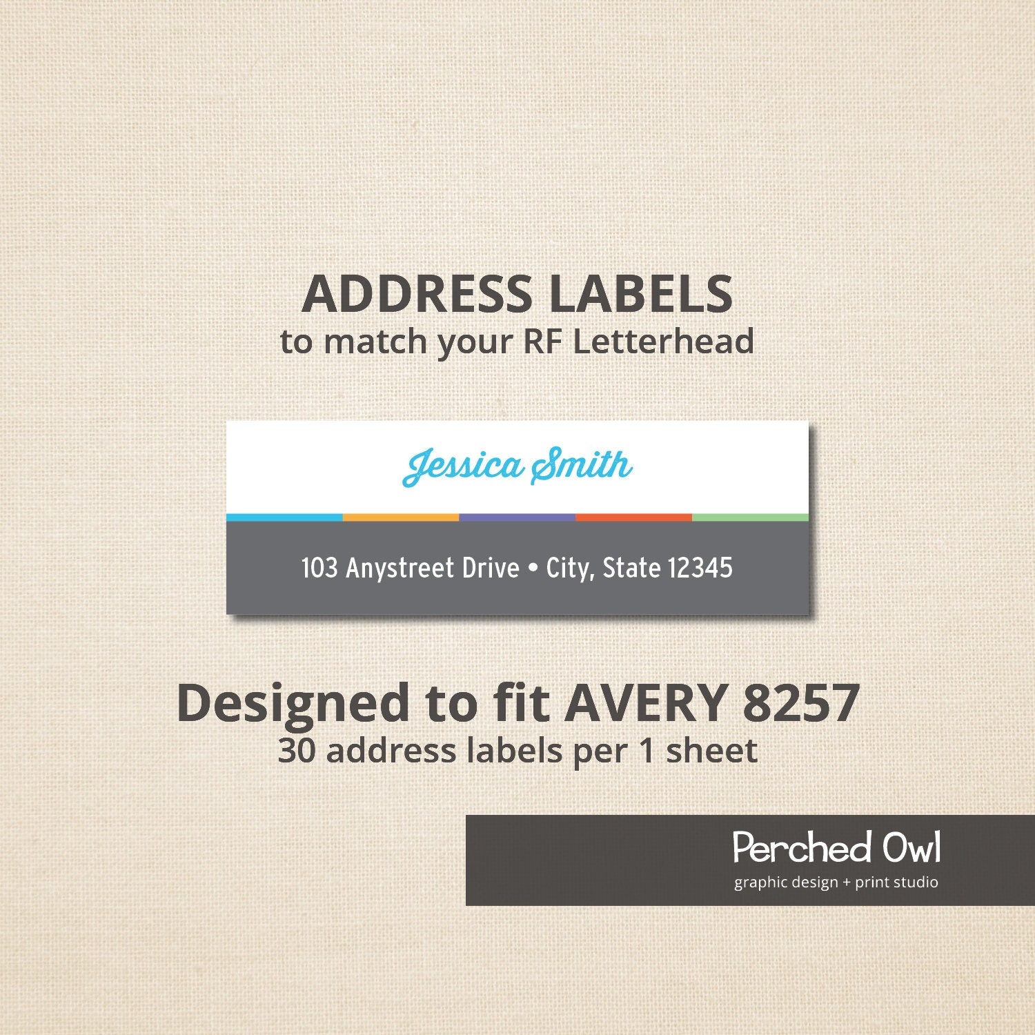 Address Labels Skincare Stationery Direct Selling Etsy