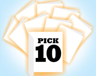 Pick 10 Cards