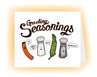 Greeting Seasonings