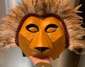 Attractive Lion King Headdress, Simba Or Mufasa, Lion King