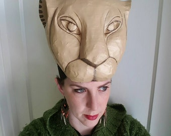 Beautiful Nala Headdress, Lioness Headress, Lion King
