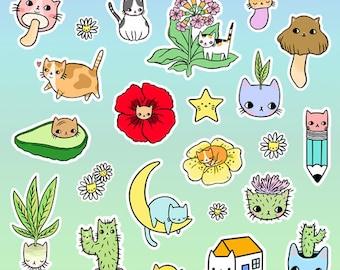 Kitty Party Mini Sticker Set