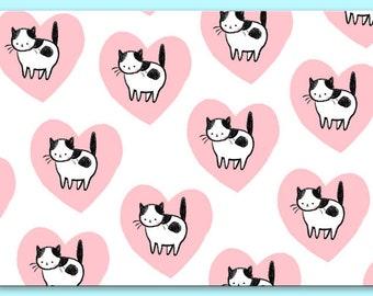 Lovecats Postcard