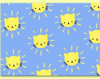 Sunshine Kitty Postcard