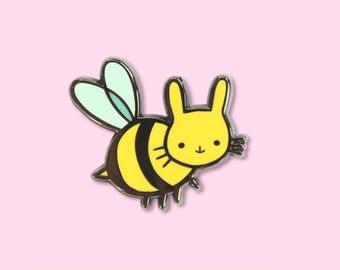 Honey Bun Hard Enamel Pin