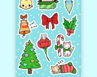 Jolly Kittens Sticker Set