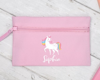 Personalised Any Name Cats Pencil Case Tin Girls School Kids Stationary 1