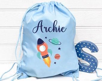 Personalised Grumpy School//PE//Gym//Baby//Drawstring Bag