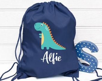 gym bag Shoe bag Handmade Cotton drawstring bag children\u2019s bag storage bag PE bag Drawstring Bag