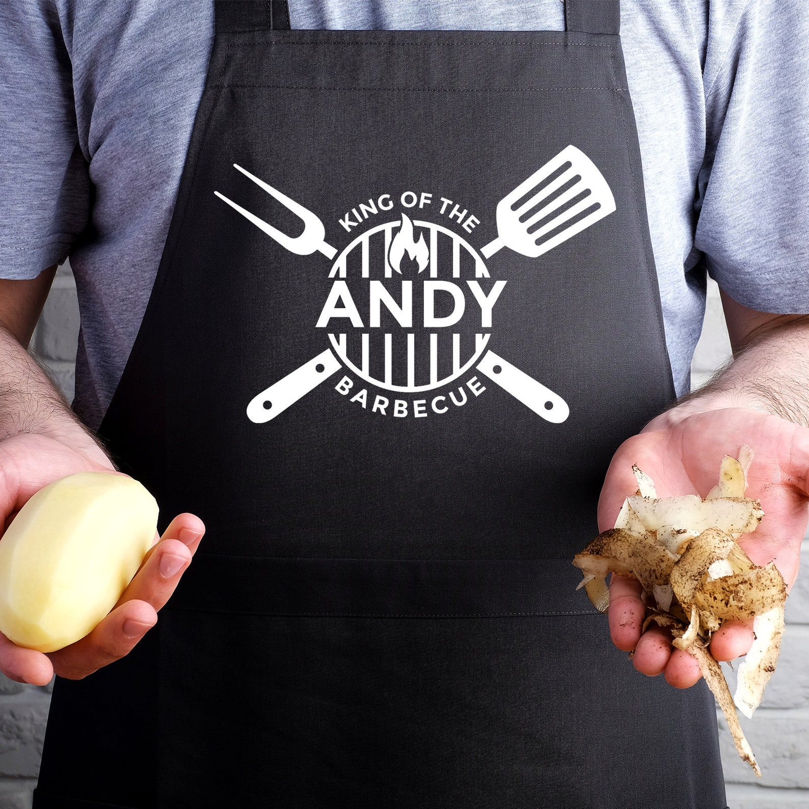Personalised BBQ Apron