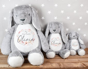Personalised My First Easter Teddy, First Easter Bunny, 1st Easter Gift, New Baby Easter Gift, Easter Baby Gift, My First Easter