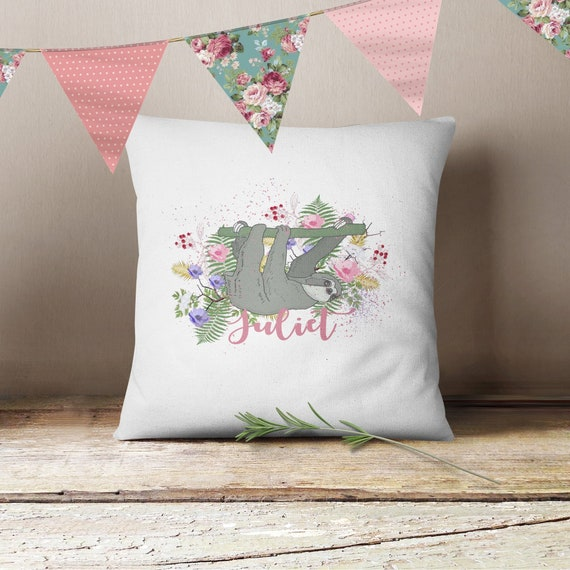 cushion quote Change colours Personalised Embroidery My Niece is brilliant..