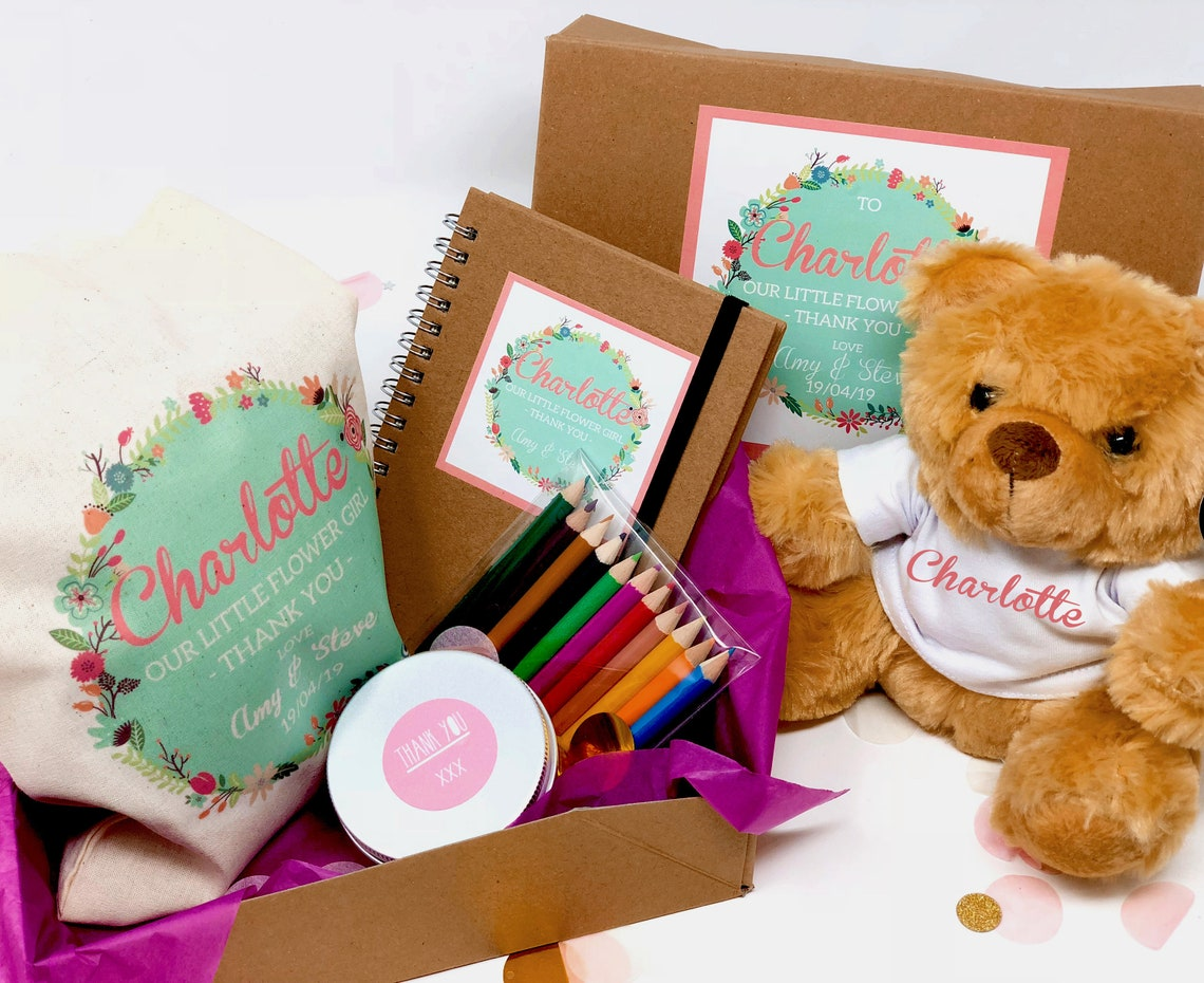 Personalised Flower Girl Gift Box