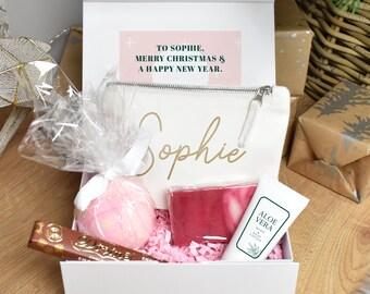 Personalised Christmas Gift Box, Luxury Christmas Gift Set, Gift Set For Her, Christmas Gift for Her, Filled Christmas Gift Box, Xmas Gift