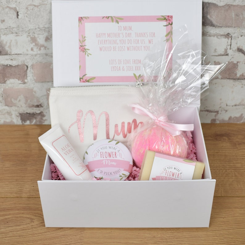 Personalised Mother's Day Gift Box Mother's Day Spa image 0