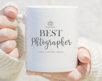 Personalised Photographer Mug, Best Photographer Gift, Personalised Gift For Photographer, Wedding Photographer Gift, Photography Gifts,
