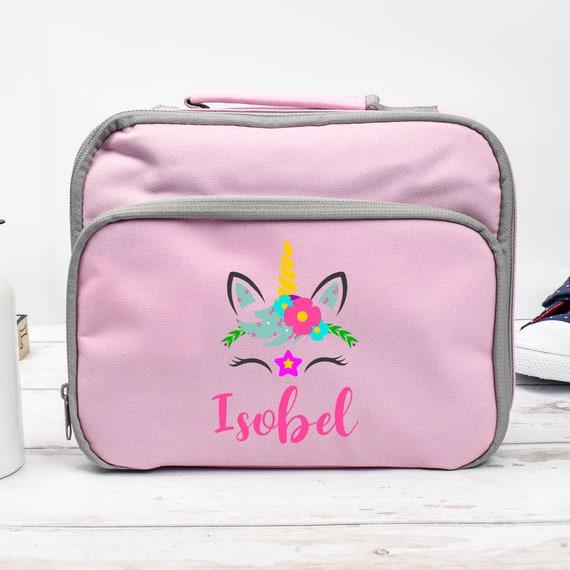 Personalised Girls Bing School Lunch Bag Insulated Children/'s Lunchbox Kids