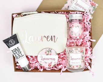 Personalised Hug In A Box Gift, Personalised Cheer Up Gift Box, Personalised Thinking of You Gift Box, Box of Cheer, Hug Gifts, Hug Present