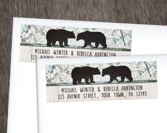 bear return address etsy
