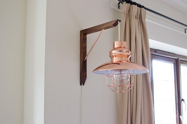 Wooden Lighting Bracket  Wall Lighting  Lighting Fixture  image 0