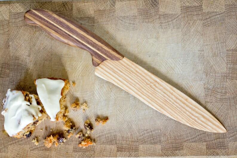 Wooden Cake Knife  Wooden Knife  Wedding Cake Knife  Cake image 0