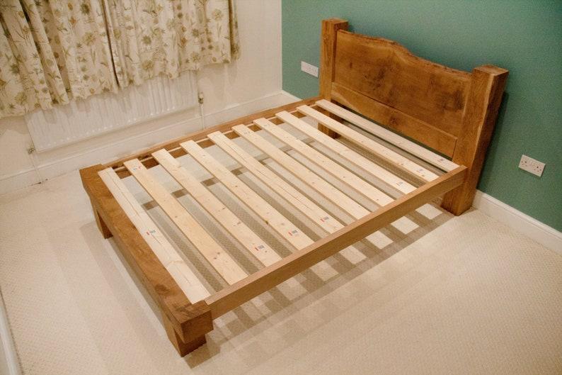 Oak Beam Bed Frame  Solid Oak Framing Beams  Oak  Wooden image 0