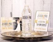 Vintage Custom Wedding Wa...