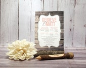 Rustic Wood Wedding Cerem...