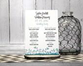 Teal Wedding Ceremony Pro...