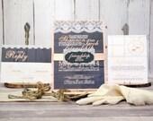 Lace Wedding Invitation S...