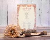 Rustic Wedding Ceremony P...