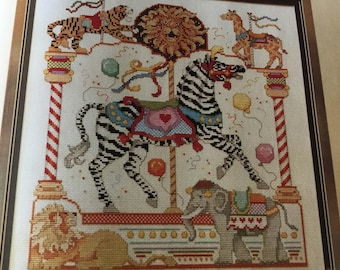 CAROUSEL HORSE - SEPTEMBER - Cross Stitch Pattern Only