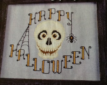 HAPPY HALLOWEEN - cross sitch pattern only
